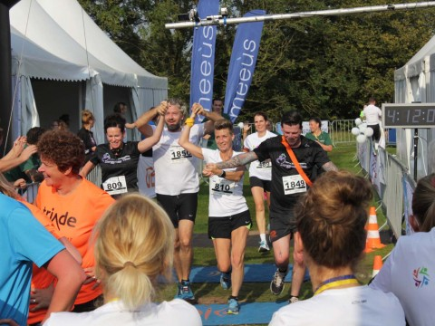 Finish Zorgmarathon